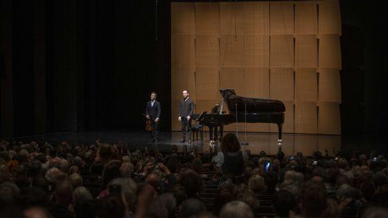 Recital R. Capuçon · Levit 2021: Renaud Capuçon (Violin), Igor Levit (Piano)