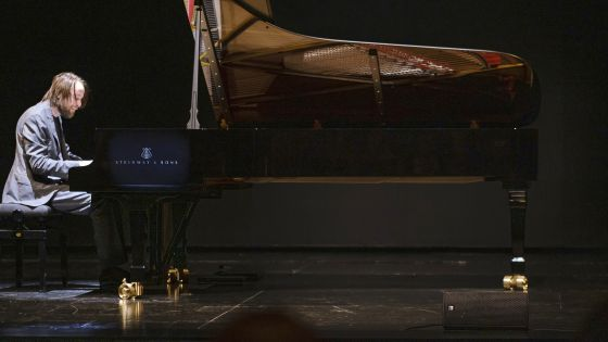 Daniil Trifonov plays the grand piano donated to the Salzburg Festival by John Paulson, the owner of Steinway