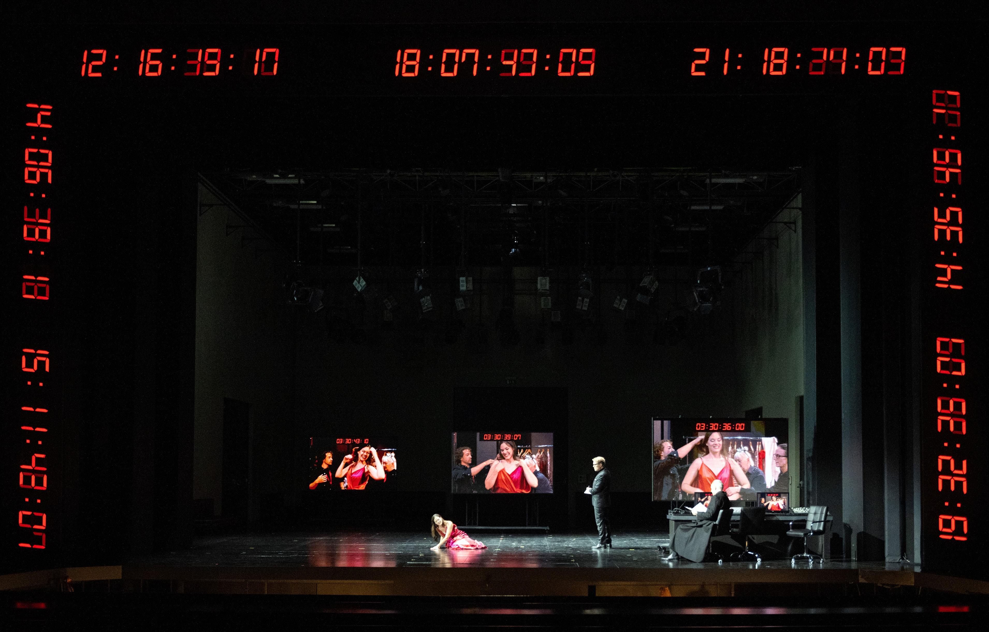 Il trionfo del Tempo e del Disinganno 2021: Regula Mühlemann (Bellezza), Lawrence Zazzo (Disinganno), Charles Workman (Tempo)
