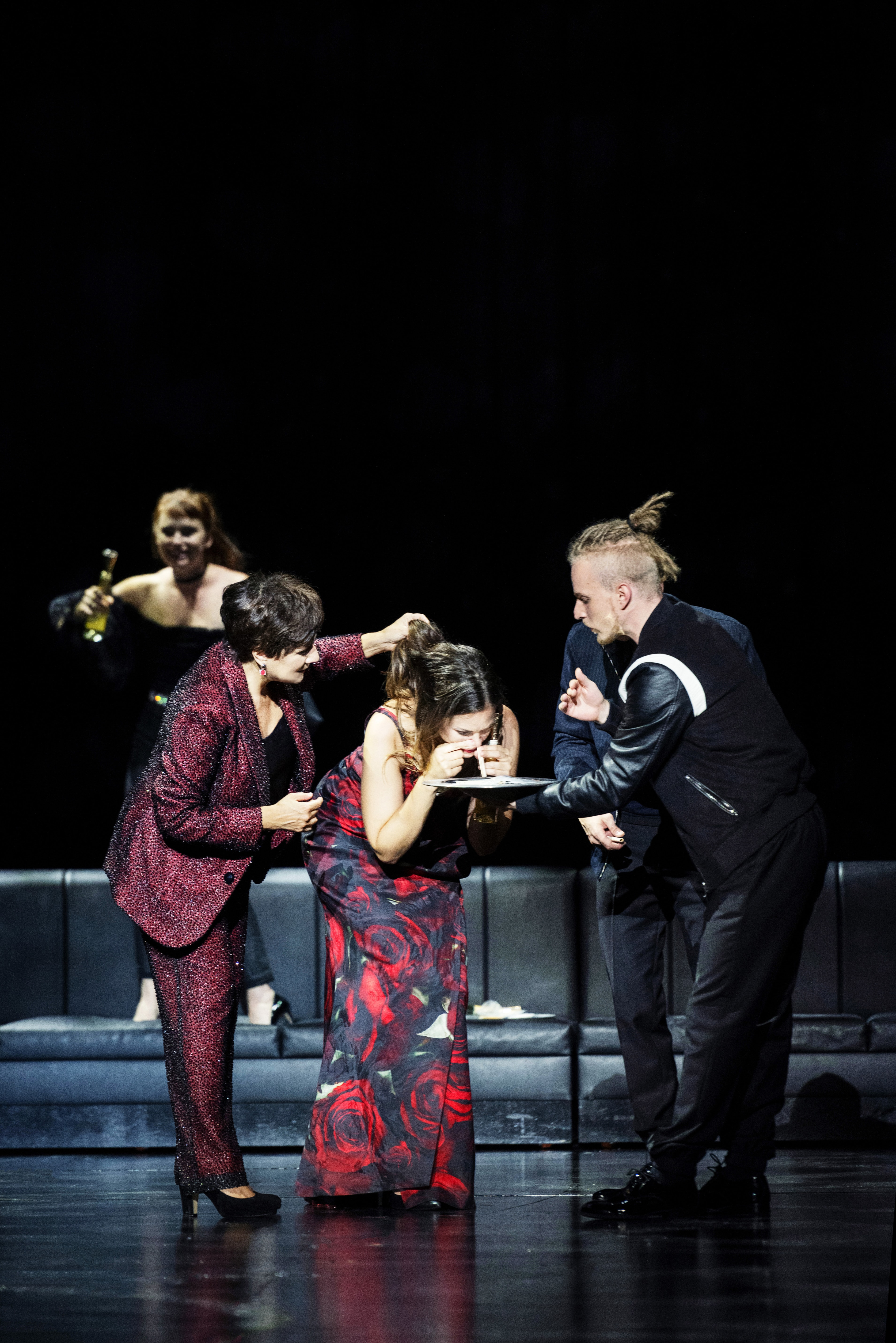 Il trionfo del Tempo e del Disinganno 2021: Cecilia Bartoli (Piacere), Regula Mühlemann (Bellezza), Ensemble