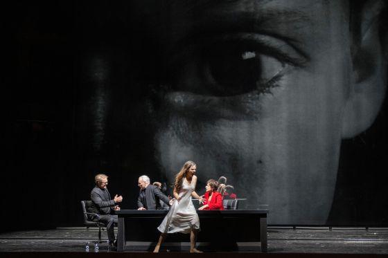 Il trionfo del Tempo e del Disinganno 2021: Lawrence Zazzo (Disinganno), Charles Workman (Tempo), Regula Mühlemann (Bellezza), Cecilia Bartoli (Piacere)