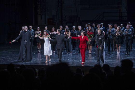 Il trionfo del Tempo e del Disinganno 2021 · Schlussapplaus: Ensemble