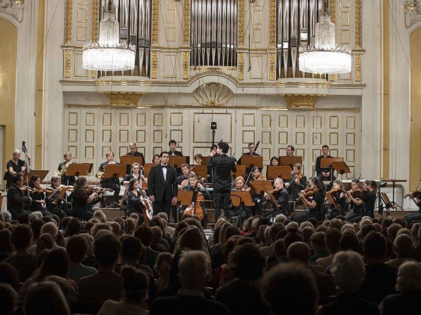 YCA Award Concert Weekend 2 2021: Ángel Macías (Tenor), Luis Toro Araya (Dirigent), Camerata Salzburg